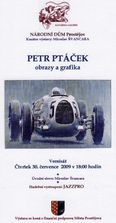 Petr Ptáček, malíř a grafik, se narodil 16.10.1965 v České Lípě. Od roku  1991 žije a tvoří v Praze. V letech 1994 až 2002 pracoval jako odborný  asistent v ... 767f2d0f66aa